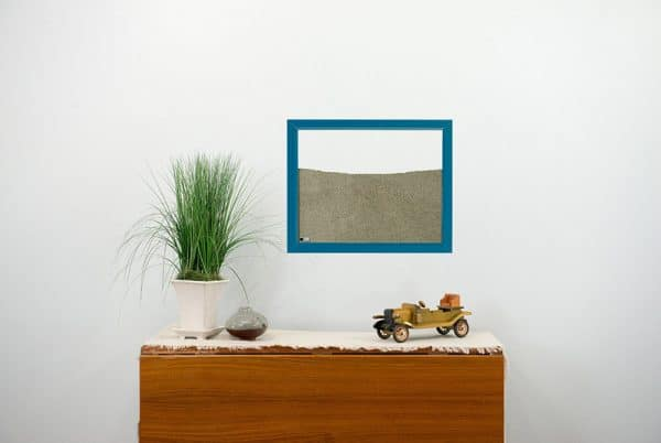 Blue Painted Frame Ant Farm with dresser small