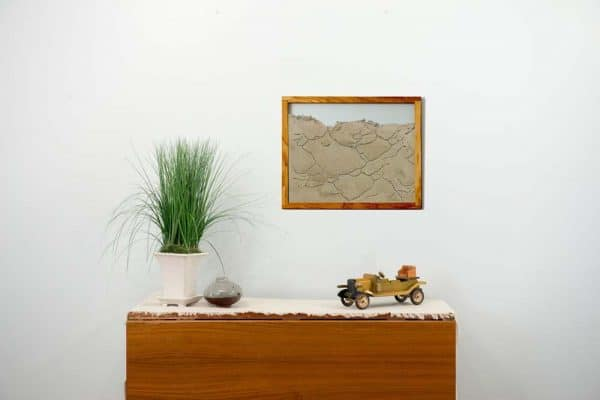 Oak frame Ant Farm with dresser