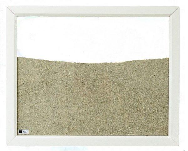 white wood frame ant farm